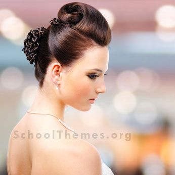 Homecoming Hairstyles designed to match the right dress, jewelry and shoes. 6