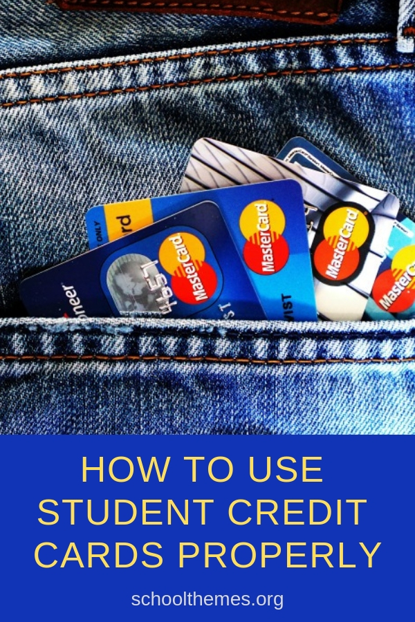 How To Use Student Credit Cards Properly #creditcards #studentcreditcards #creditcarddebt #money #studentdebt
