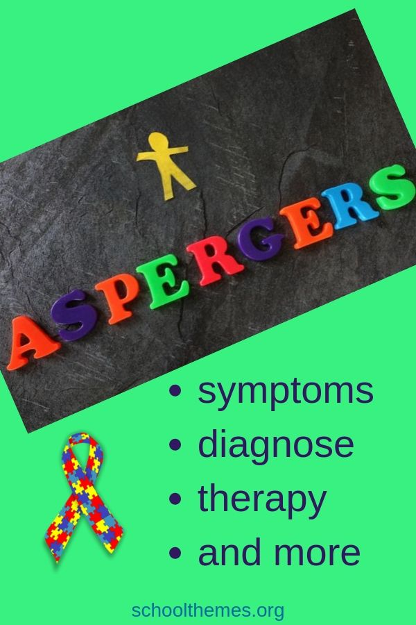 Learn about Asperger's syndrome: symptoms, diagnostic, treatment and more. ##aspergers #AS #ASD #aspergersyndrome