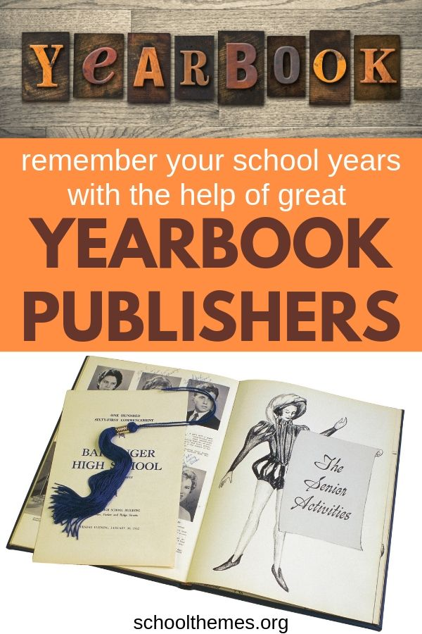 Yearbook publishers - a good one is worth its weight in gold and will help you remember the best school memories. #yearbook #publishers #school #schoolmemories
